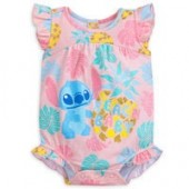 Stitch Beach Baby Cuddly Bodysuit for Baby
