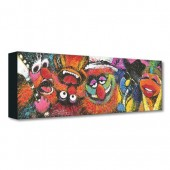 The Muppets ''Electric Mayhem'' Giclee on Canvas by Stephen Fishwick