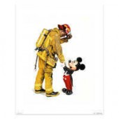 Mickey Mouse Mickey and the Fireman by Charles Boyer