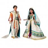Jasmine and Aladdin Limited Edition Doll Set - Live Action Film - 17''