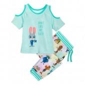 Judy Hopps Pajama Set for Girls - Zootopia