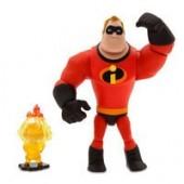 Mr. Incredible and Jack-Jack Action Figure Set - PIXAR Toybox