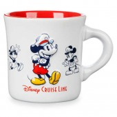 Mickey Mouse Diner Mug - Disney Cruise Line