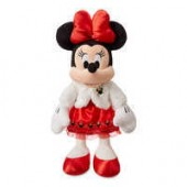 Minnie Mouse Holiday Plush - Medium
