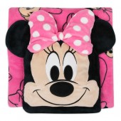 Minnie Mouse Convertible Fleece Throw - Personalized