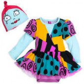 Sally Costume Bodysuit Set for Baby - The Nightmare Before Christmas