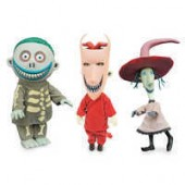 Lock, Shock, and Barrel Deluxe Doll Set - The Nightmare Before Christmas