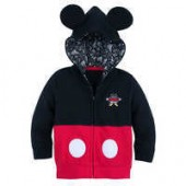 I Am Mickey Mouse Zip-Up Hoodie for Baby