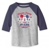 Toddlers' Mickey Mouse 4th of July Long Sleeve Raglan T-Shirt - Walt Disney World - Customized