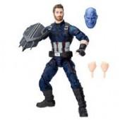 Captain America Action Figure - Marvels Avengers: Infinity War Legends Series