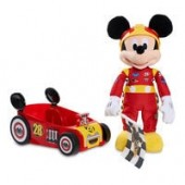 Mickey and the Roadster Racers Talking Mickey Mouse Plush and Car