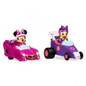 Mickey and the Roadster Racers Pullback Racers Set - Minnie Mouse & Daisy Duck