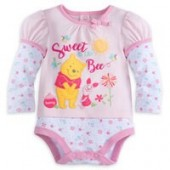 Winnie The Pooh Cuddly Bodysuit - Baby