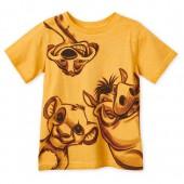 Simba, Timon, and Pumbaa T-Shirt for Boys - The Lion King