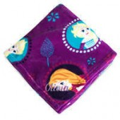 Frozen Fleece Throw - Personalizable