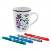 Disney Cruise Line Mug and Marker Set