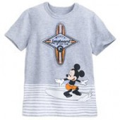 Mickey Mouse Surfer T-Shirt for Boys