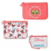 Mickey and Minnie Mouse Pouch Set