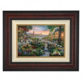 ''101 Dalmatians'' Framed Limited Edition Canvas by Thomas Kinkade Studios