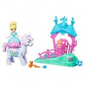 Cinderella Magical Movers Pony Ride Stable Playset