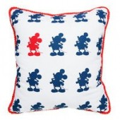Mickey Mouse Americana Throw Pillow
