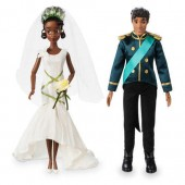 Tiana and Naveen Classic Wedding Doll Set - The Princess and the Frog