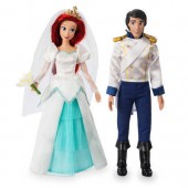 Ariel and Eric Classic Wedding Doll Set - The Little Mermaid