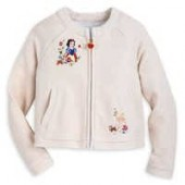 Snow White Knit Jacket for Girls