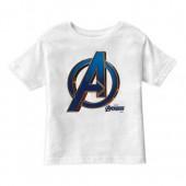 Marvel's Avengers: Endgame - Avengers Blue & Gold Logo T-Shirt for Boys - Customized
