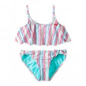 The Little Mermaid Striped Swimsuit for Girls by ROXY Girl