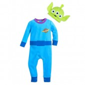 Toy Story Alien Stretchie Sleeper and Hat for Baby