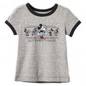 Minnie Mouse Ringer T-Shirt for Girls - Walt Disney Studios