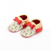 Mulan Moccasins for Baby by Freshly Picked