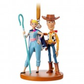Woody and Bo Peep Sketchbook Ornament - Toy Story 4