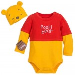 Winnie the Pooh Costume Bodysuit Set for Baby