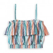 The Little Mermaid Striped Crop Top for Girls by ROXY Girl