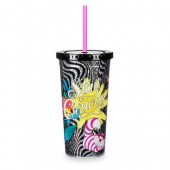 Alice in Wonderland Tumbler with Straw - Large