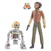Jarek Yeager and Bucket (R1-J5) Action Figure Set - Star Wars: Resistance