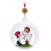 Carl and Ellie Legacy Sketchbook Ornament - Up - Limited Release