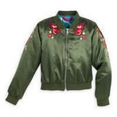 Mushu Satin Bomber Jacket for Girls - Mulan