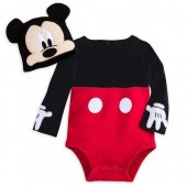 Clothing, Shoes & Accessories Smart Disney-minnie Mouse Bodysuit*pants & Cap-gray*white & Pink-size 6 Months-nwt A Wide Selection Of Colours And Designs