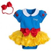 Snow White Costume Bodysuit for Baby - Personalizable