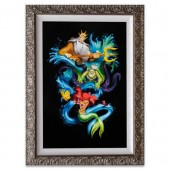 The Little Mermaid ''Ariel's Innocence'' Limited Edition Giclee  by Noah