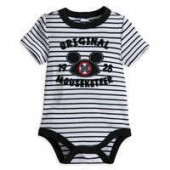 Mickey Mouse Mouseketeer Disney Cuddly Bodysuit for Baby