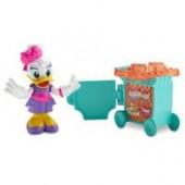 Flight Attendant Daisy Duck Action Figure - Minnies Happy Helpers