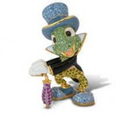 Jiminy Cricket Jeweled Figurine by Arribas - Large