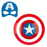 Captain America Mask & Shield Set