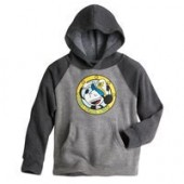 Mickey Mouse Raglan Hoodie for Kids - Disney Cruise Line