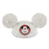 Mickey Mouse Ear Hat Jeweled Figurine by Arribas - Limited Edition