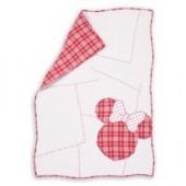 Minnie Mouse Ticking Stripe Minnie Quilt by Ethan Allen